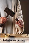 Jesús trabajando