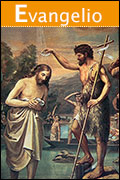 Juan bautiza a Jesús