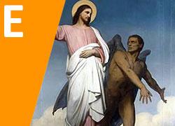 Jesús tentado por Satanás